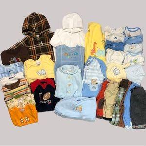 Baby Boys Clothing Lot Gymboree Carter's 0-3-6 mo.